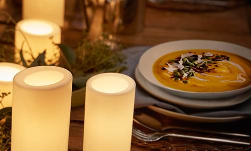 Coconut Curry and Pumpkin Soup