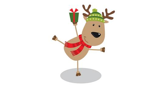 MEET RUDOLF THE REINDEER & GREAT GIVEAWAYS